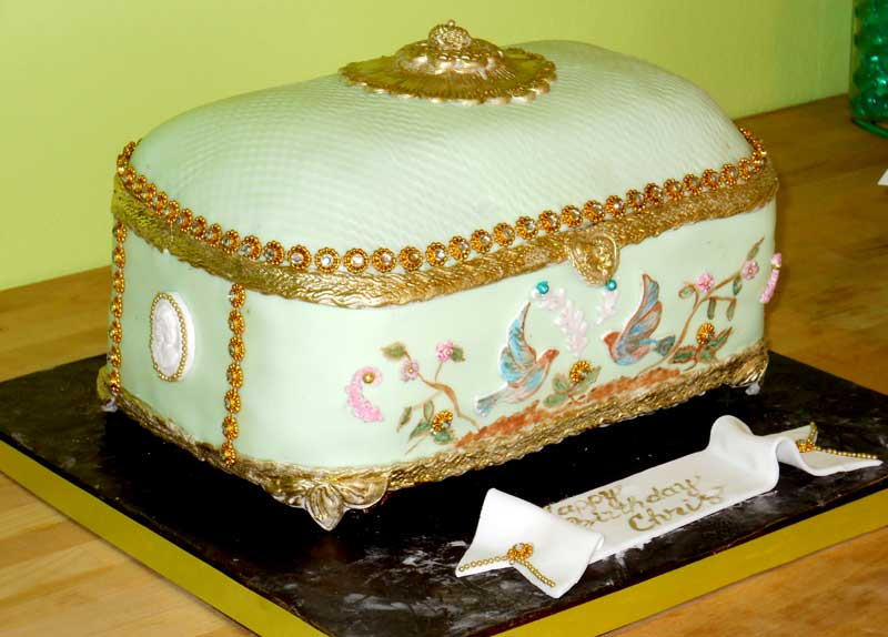 Pin giovannas cakes jewelry box cake cake picture for pinterest and