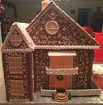 Gingerbread 2-store house